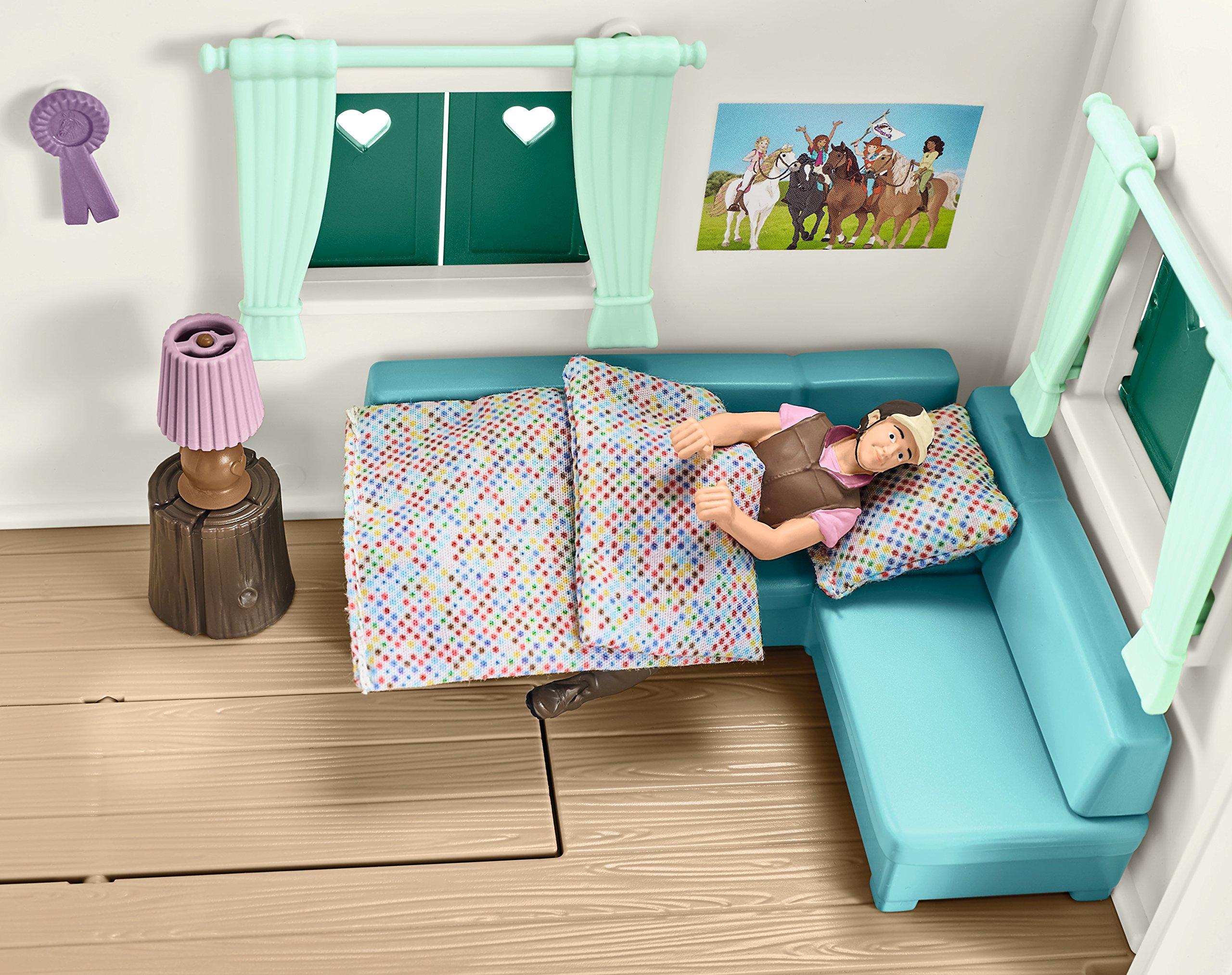 Schleich 42415 Caravan for Secret Club Meetings Play Set, Multicolor by Schleich (Image #6)