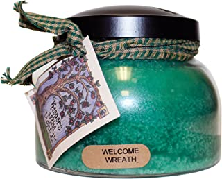 product image for A Cheerful Giver Welcome Wreath Mama Jar Candle, 22-Ounce