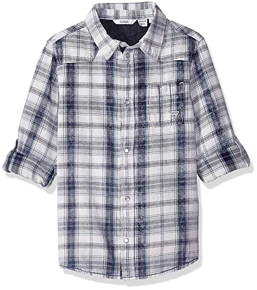 Amazon.com: Guess - Camiseta de manga larga para niño: Clothing