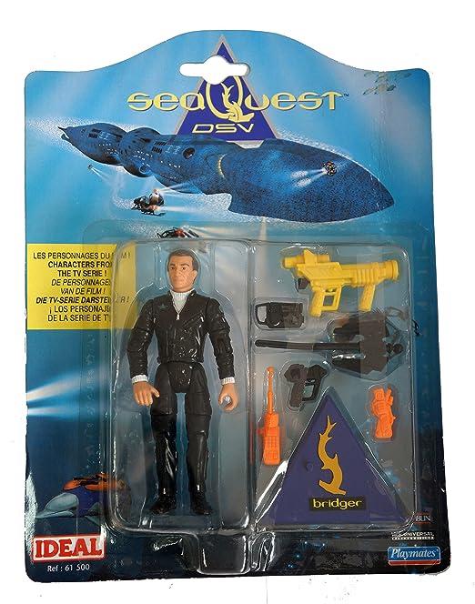 Amazon.com: SeaQuest DSV Captain Nathan Hale Bridger Action Figure: Toys & Games