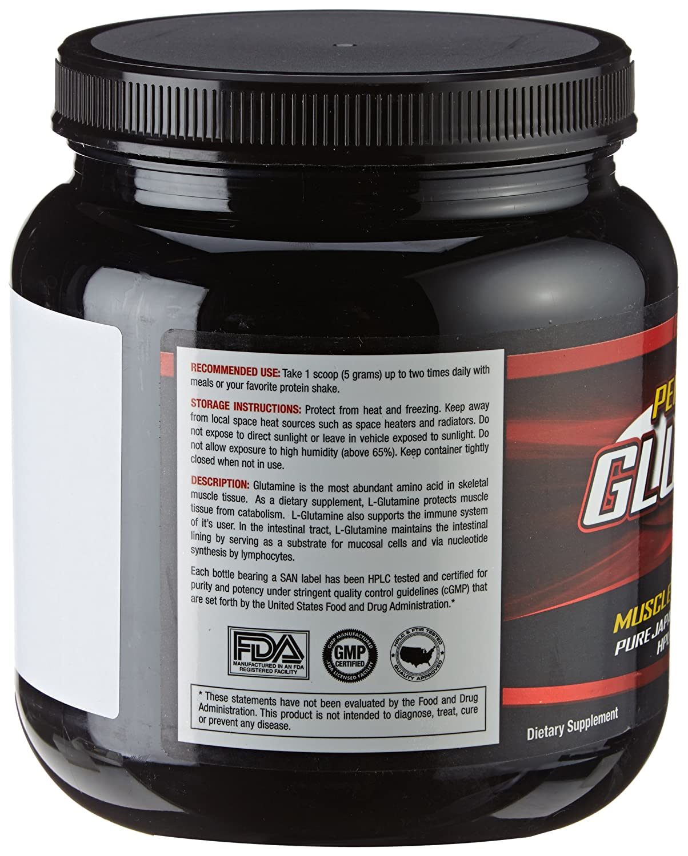 Amazon.com: SAN Nutrition Performance Glutamine Pharmaceutical Grade L Glutamine  Supplement, 60 Servings: Health U0026 Personal Care