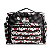 Ju-Ju-Be B.F.F. Convertible Diaper Bag, Hello Kitty Dots and Stripes
