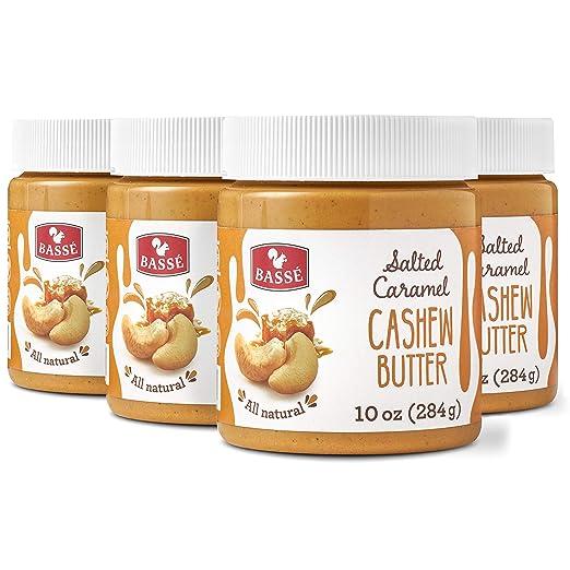 Basse mantequilla de anacardo natural con caramelo salado ...