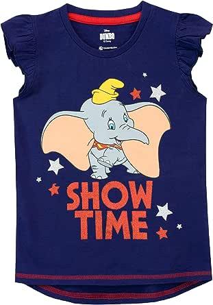 Disney Camiseta de Manga Corta para niñas Dumbo: Amazon.es: Ropa y ...