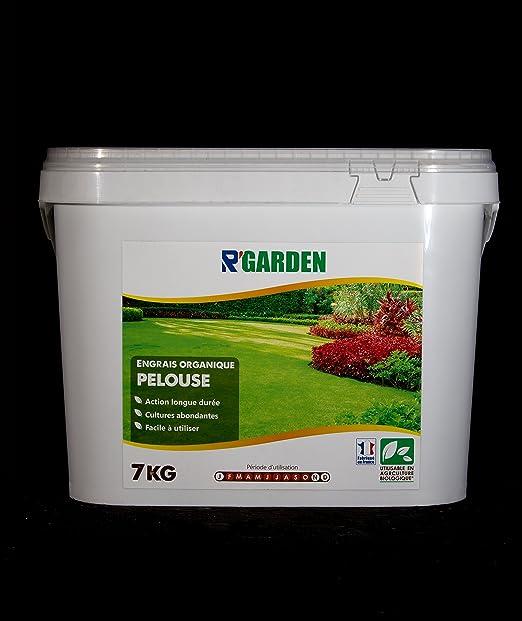 r Garden abono orgánico césped (7 kg: Amazon.es: Jardín