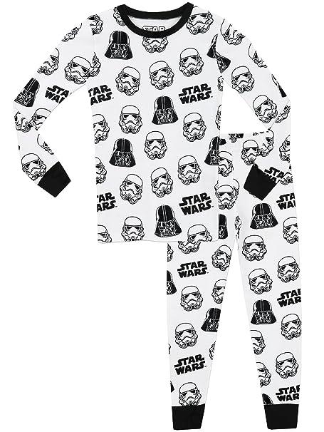 Star Wars - Pijama para Niños - Star Wars - Ajuste Ceñido - 10 - 11