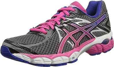 ASICS Gel Flux 2 - Zapatillas de Running para Mujer, Negro (ónix, Rosa y Azul.), 41 EU: Amazon.es: Zapatos y complementos
