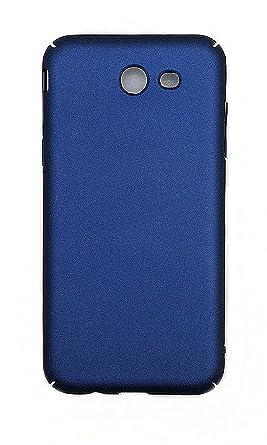 Case for Samsung SM-J327V Galaxy J3 V 2017 / SM-J327VPP Case PC Hard Cover  Blue