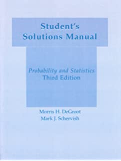 Amazon students solutions manual for probability statistics students solution manual probability statistics fandeluxe Gallery