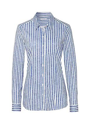 8dbf541d0f231 DESOTO bügelfreie Premium - Jersey Bluse aus mercerisierter ...