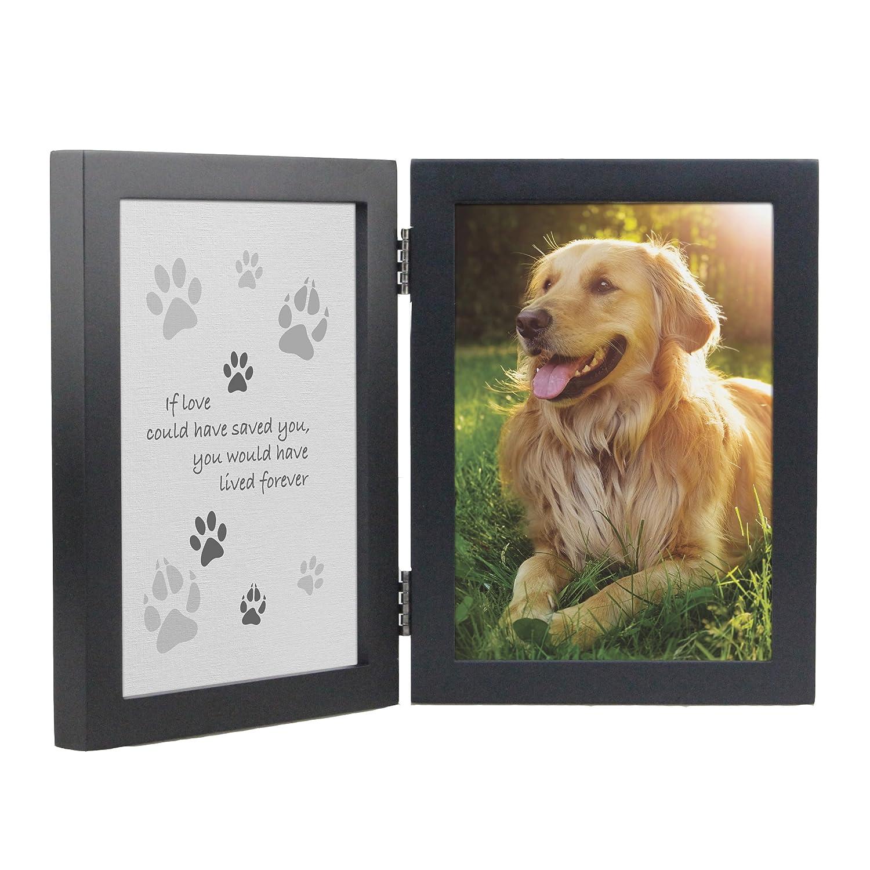 Gedenktafel für Haustiere Rahmen – Wenn Liebe könnte Gespeichert ...
