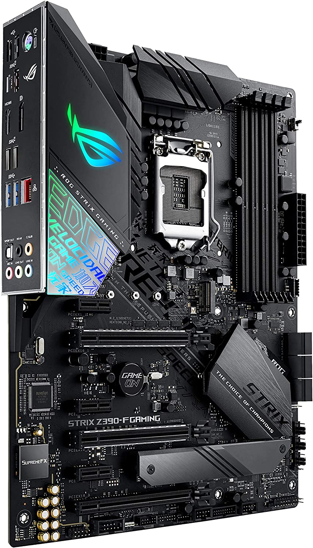 ASUS ROG Strix Z390-F Gaming LGA1151 (Intel 8th and 9th Gen) ATX DDR4 DP HDMI M.2 USB 3.1 Gen2 Gigabit LAN Motherboard, Black: Amazon.co.uk: Computers & Accessories