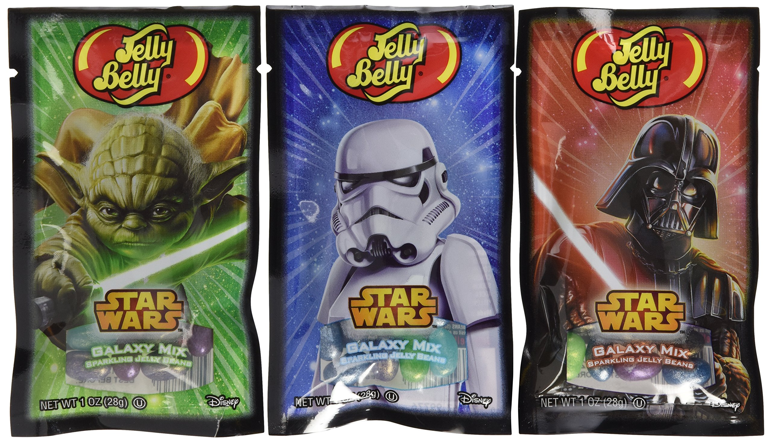 Jelly Belly Star Wars Galaxy Mix Sparkling Jelly Beans Mix - 1 Oz Bag (8 Bags) 10