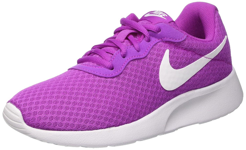 Nike Tanjun - Zapatillas para Mujer, Color Negro/Blanco 40 EU Morado (Hyper Violet/White)