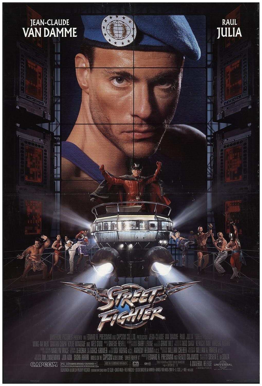 Poster film Street Fighter (1994).