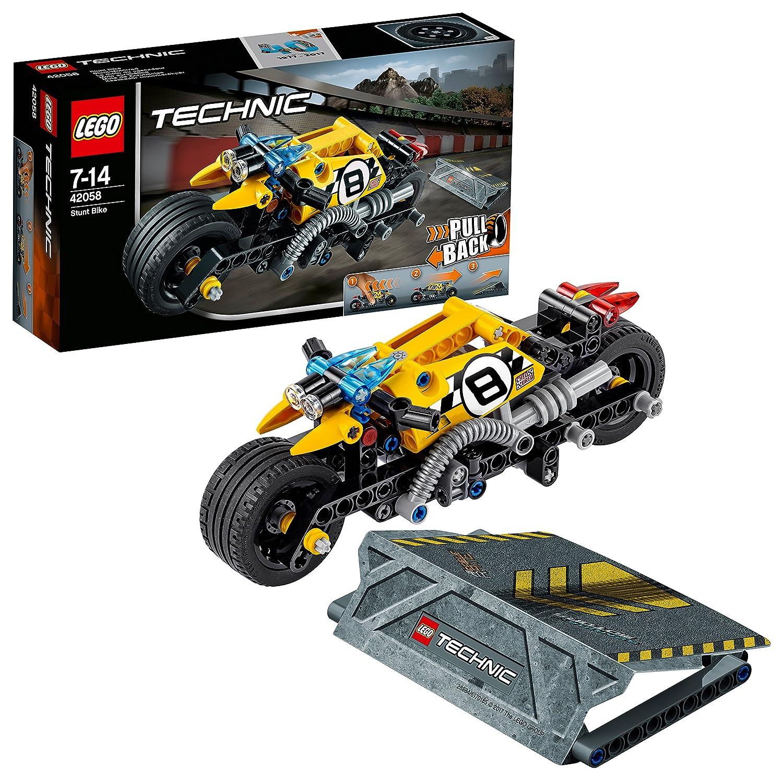 achat LEGO Technic - La moto du cascadeur - 42058 - Jeu de Construction pas cher prix