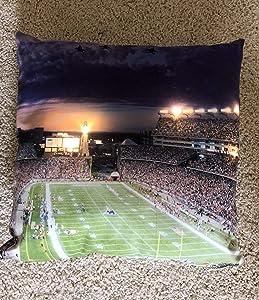 LED Pillow - New England Patriots, Gillette Stadium - Light Up Pillow, Night Light, Night Lamp
