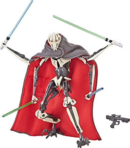 Hasbro Star Wars The Black Series General Grievous Action Figure Toys Games