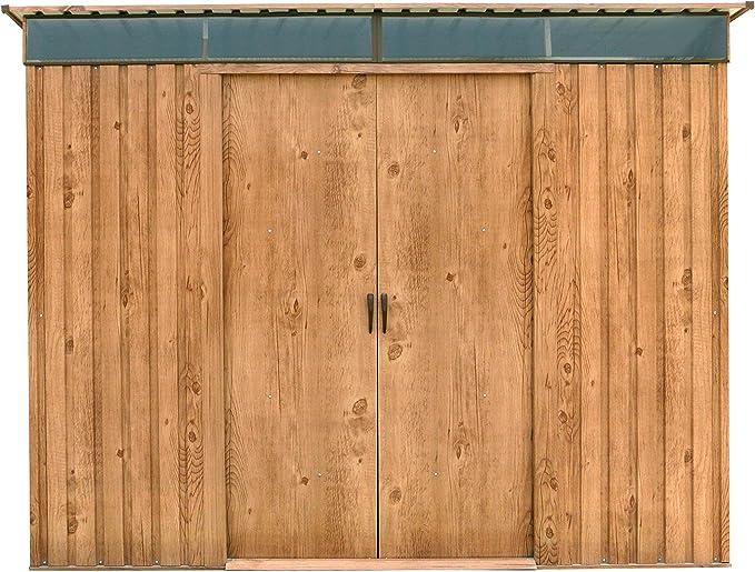 Duramax 50345 8 x 6 ft Pent Techo Skylight cobertizo – Madera: Amazon.es: Jardín
