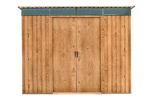 Duramax 50345 8 x 6 ft Pent Techo Skylight cobertizo – Madera