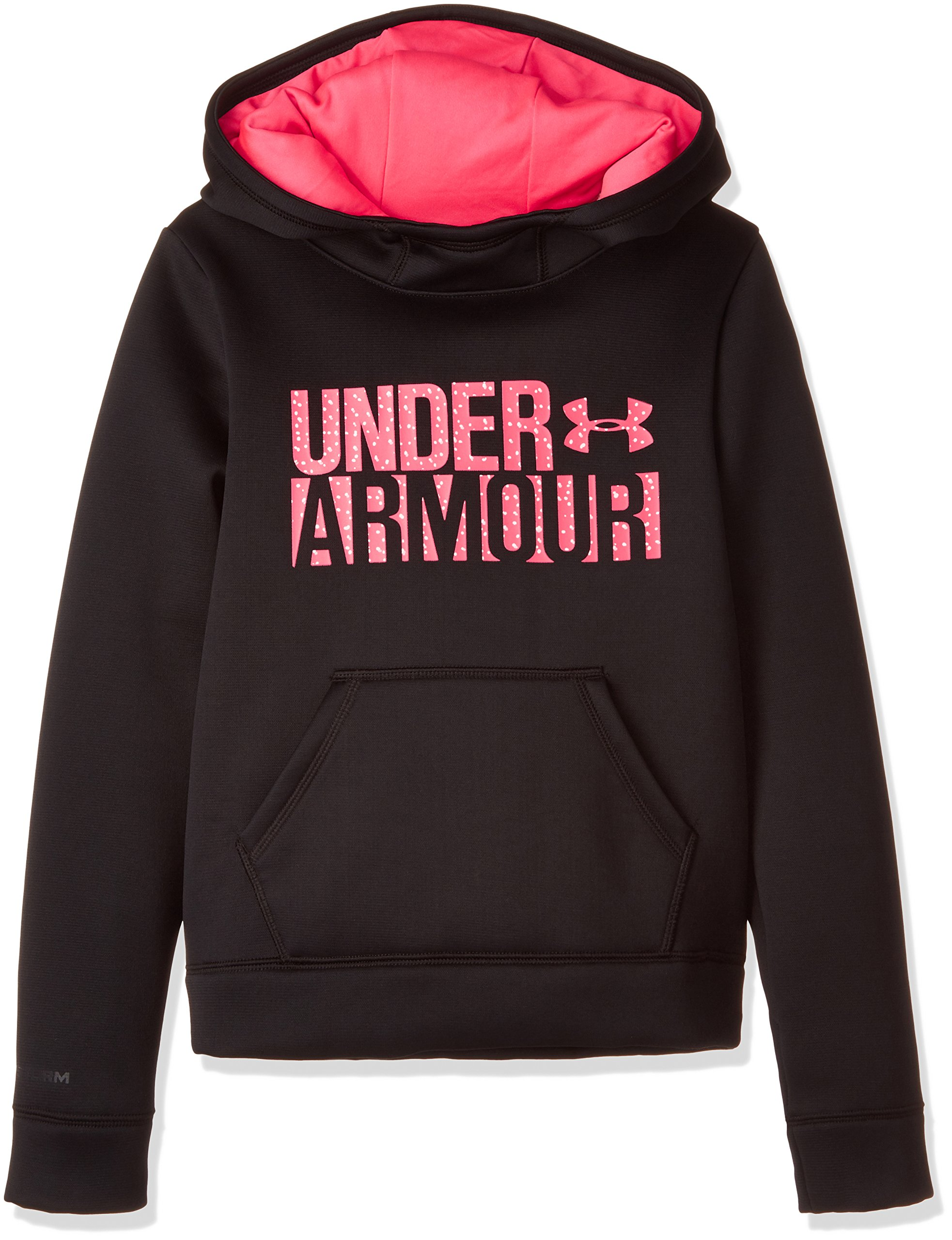Under Armour Armour Fleece Wordmark Hoodie - Girl's by Under Armour (Image #1)