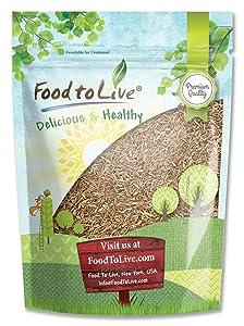 Cumin Seeds, 3 Pounds — Whole, Kosher, Vegan, Bulk