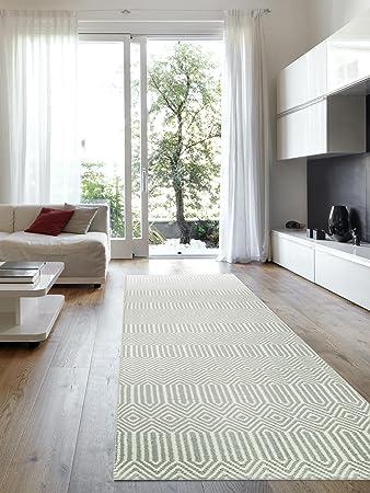 Läufer 80x300 benuta teppich läufer sloan türkis 80x300 cm moderner teppich für