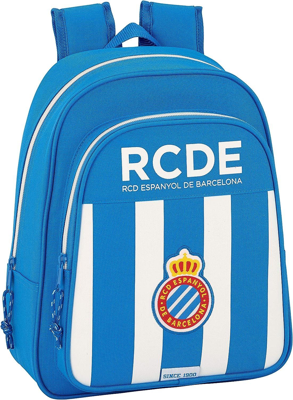 Safta Mochila Escolar Infantil Animada R.C.D. Espanyol Oficial ...