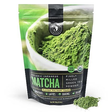 Jade Leaf Matcha Green Tea Powder   Usda Organic, Authentic Japanese Origin   Classic Culinary Grade   Antioxidants, Energy [8.8 Ounce (250... by Jade Leaf Matcha