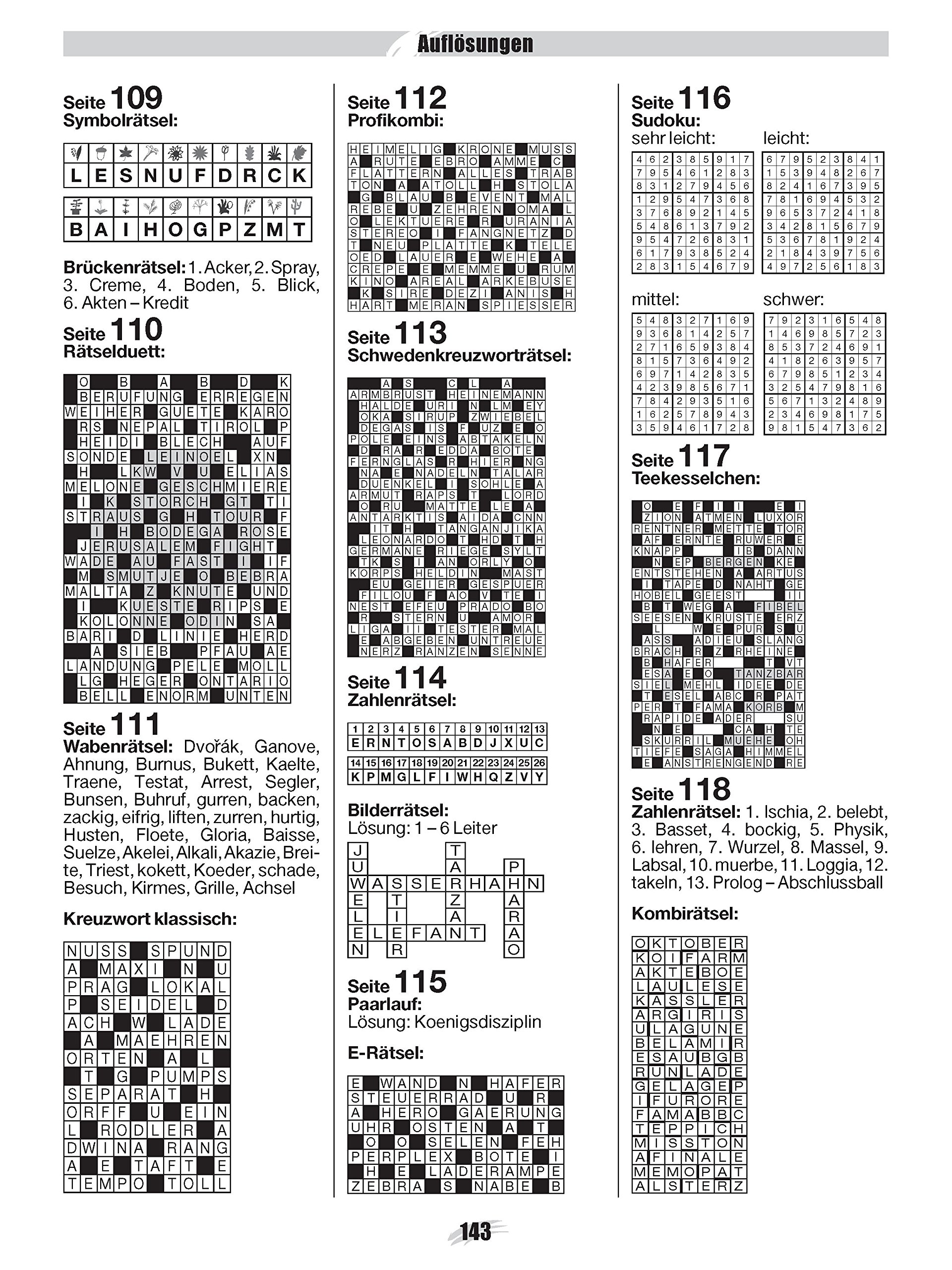 Lösungen brückenrätsel Kreuzworträtsellexikon