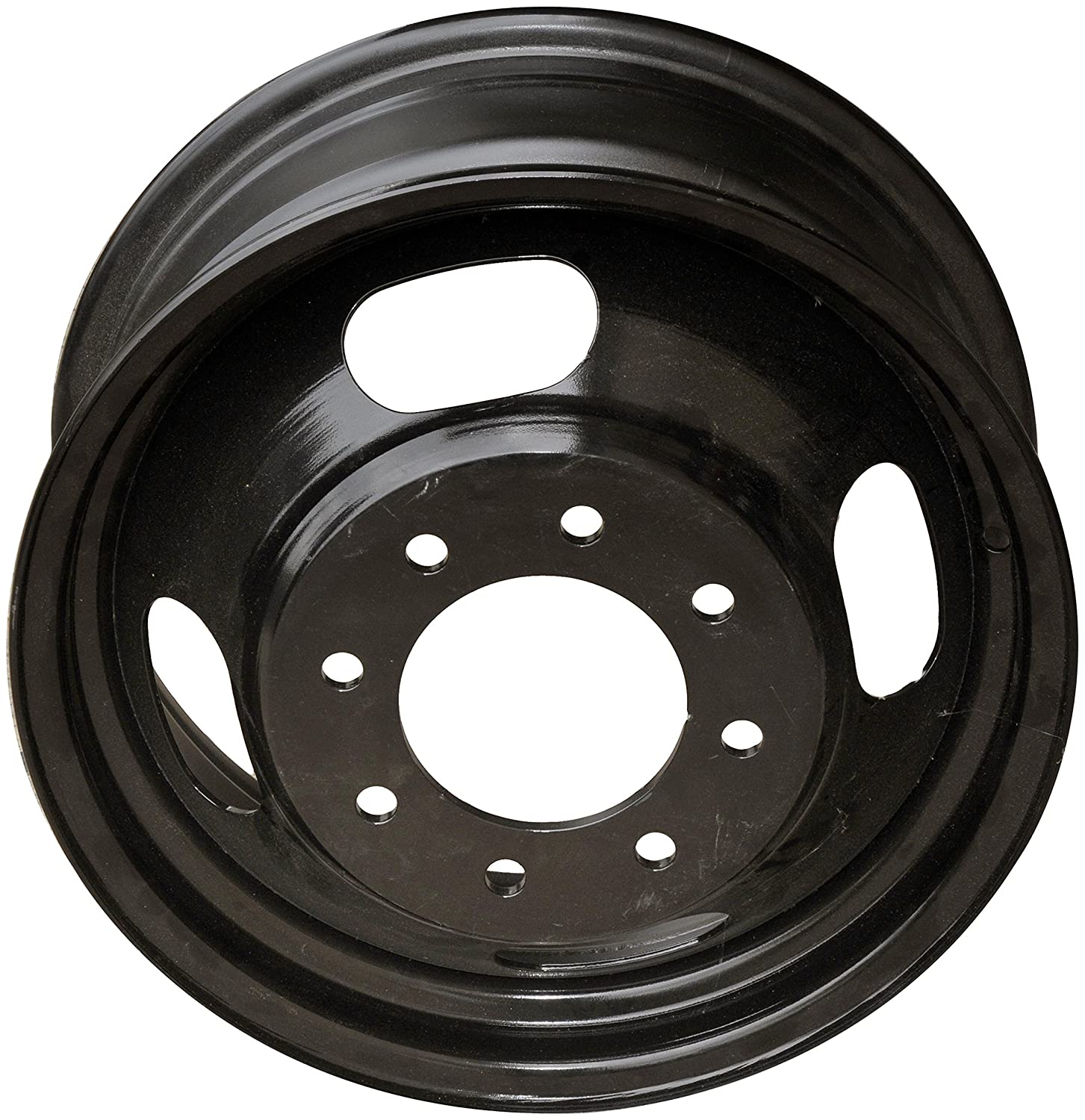 16 x 6. inches //5 x 108 mm, 51 mm Offset Dorman 939-199 Black Wheel with Painted Finish