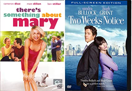 Amazoncom Two Weeks Notice Something About Mary Dvd Double