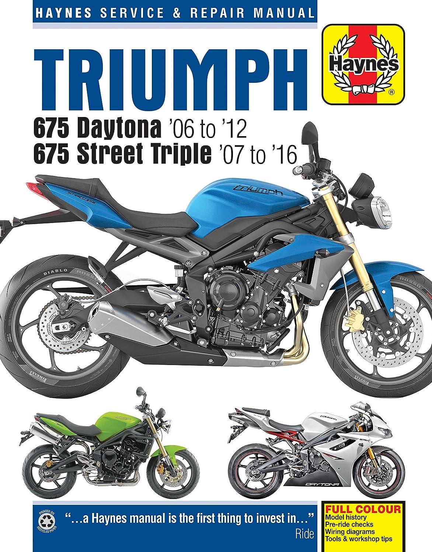 Haynes Triumph Street Triple Manual M4876 Automotive Saturn Vue Repair Diagrams