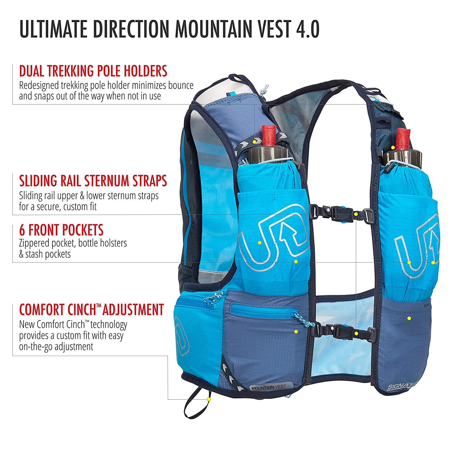 huge selection of 74282 774f0 Ultimate Direction Mountain Vest 4.0