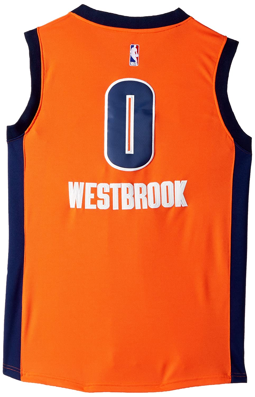 adidas Russell Westbrook Oklahoma City Thunder Naranja de ...