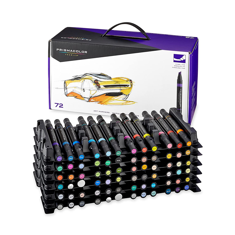 Prismacolor Premier Kétvégű 72 darabos toll készlet