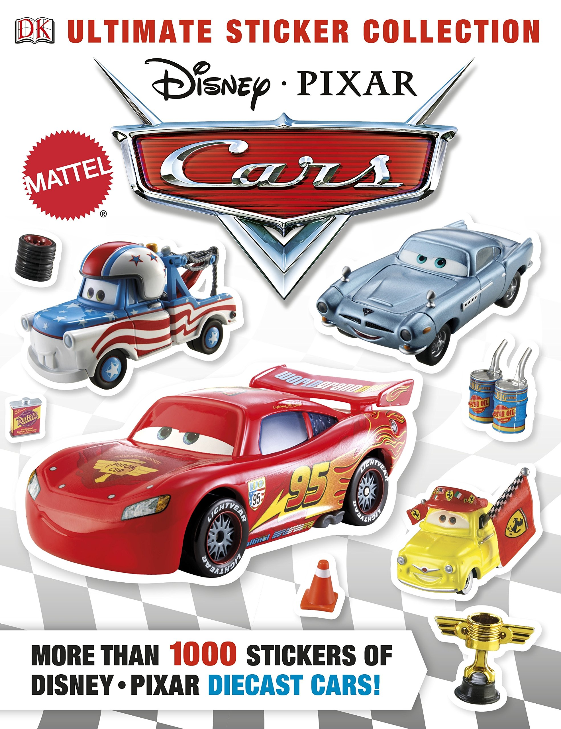 Ultimate Sticker Collection: Disney Pixar Cars (Ultimate Sticker Collections) by DK Publishing Dorling Kindersley (Image #2)
