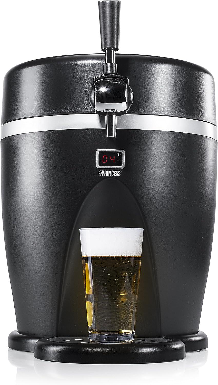 Princess 282992 - Mini tirador de cerveza, 65 W, color negro