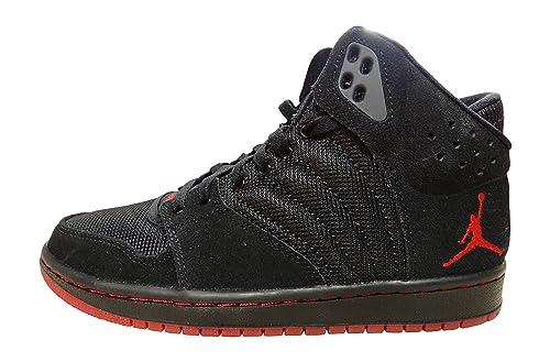 buy popular b5acb b0ce6 Nike Air Jordan 1 Flight 4 PREM Mens Hi Top Basketball Trainers 838818  Sneakers Shoes (US 8. 5, Black Gym red Black 060)  Buy Online at Low Prices  in India ...