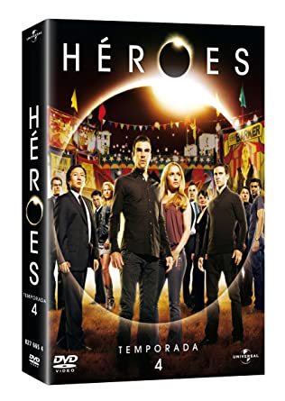 Héroes: Temporada 4 [DVD]