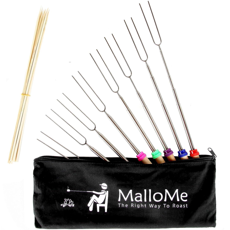 Amazon MalloMe Marshmallow Roasting Sticks Extending Roaster