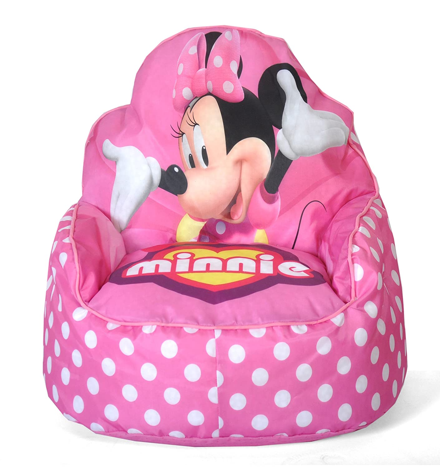 Bean bag chairs for teenage girls - Amazon Com Disney Minnie Mouse Toddler Bean Bag Sofa Chair Toys Games
