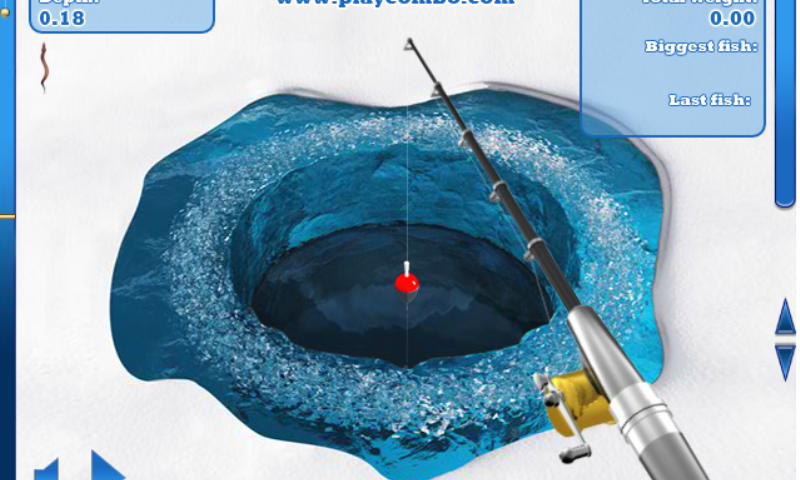 Ice fishing game appstore for android for Ice fishing games free