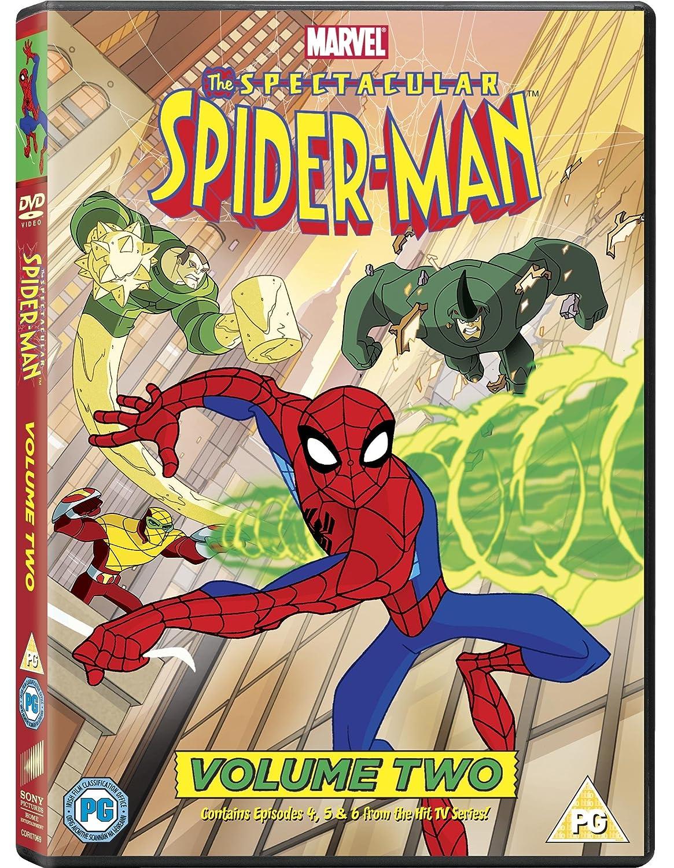 the spectacular spider man volume two dvd 2010 amazon co uk josh