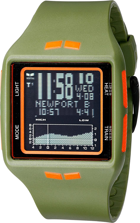 Vestal Unisex BRG029 Brig Digital Display Quartz Green Watch