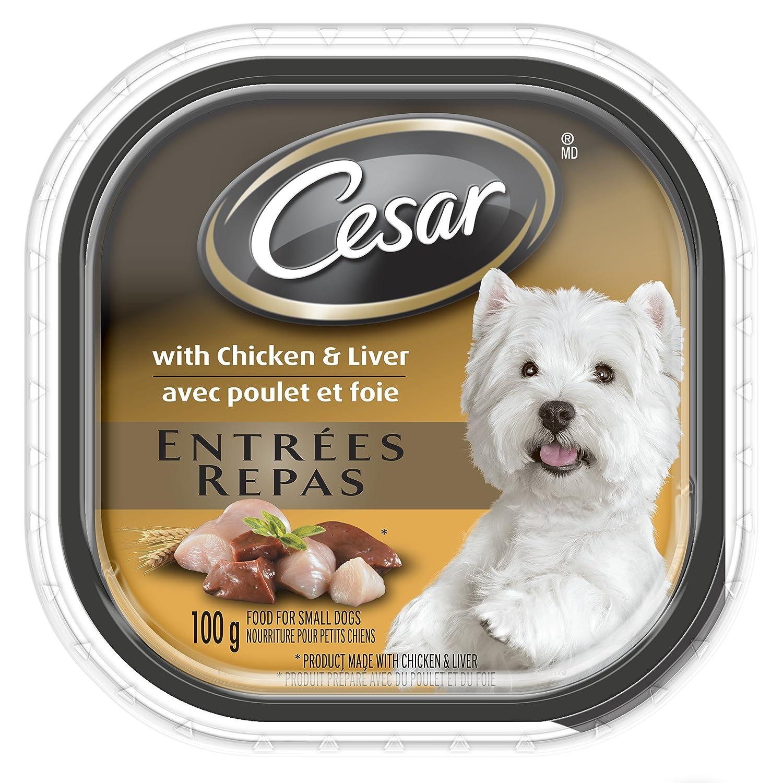 Cesar Entrées Food Trays for Dogs Mars Canada Inc. Petcare 058496433567