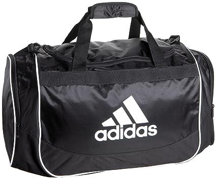 8ea2b0f90ba081 adidas Defender Medium Duffel, One Size/13 x 24 x 12-Inch, New Black ...