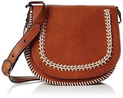 73c098d526 Aldo Women s Miroissi Cross-Body Bag Brown (Cognac)  Amazon.co.uk ...
