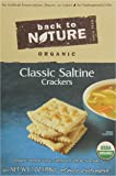 Back to Nature Crackers, Organic Classic Saltines, 7 Ounce
