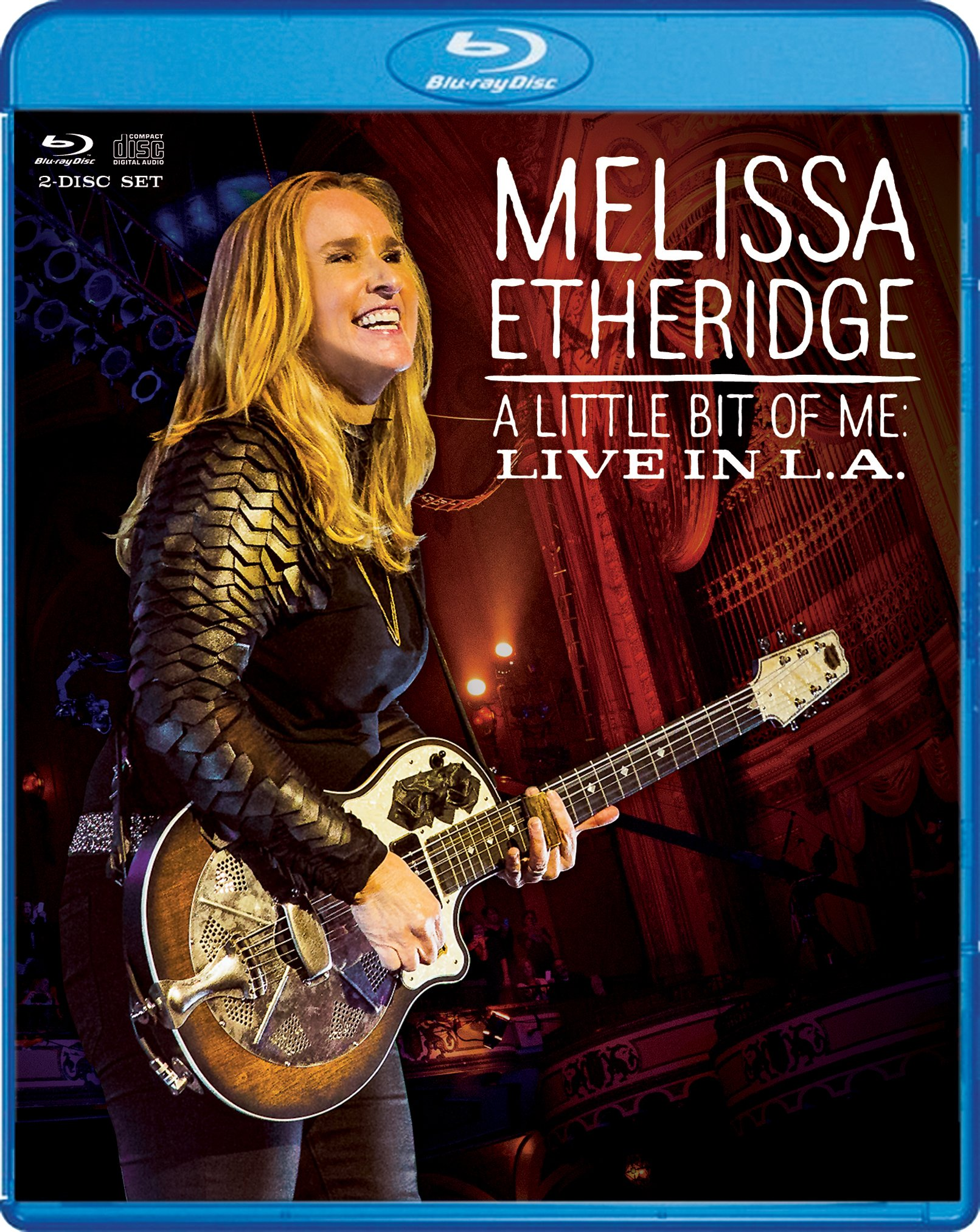 Blu-ray : Melissa Etheridge - Little Bit of Me (With CD, 2 Disc)